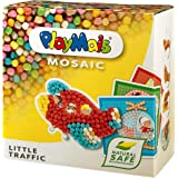 PlayMais 160183 - PlayMais Mosaic Little Traffic, Bastelset
