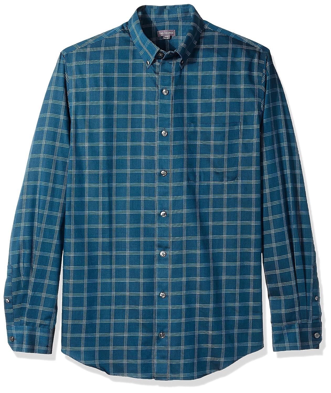 Van Heusen Men's Big and Tall Traveler Stretch Non Iron Long Sleeve Shirt 50W5785