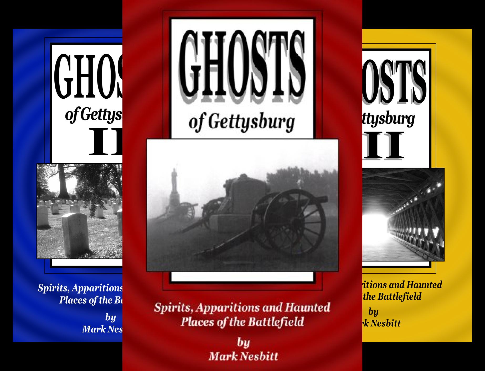Ghosts of Gettysburg (8 Book Series)