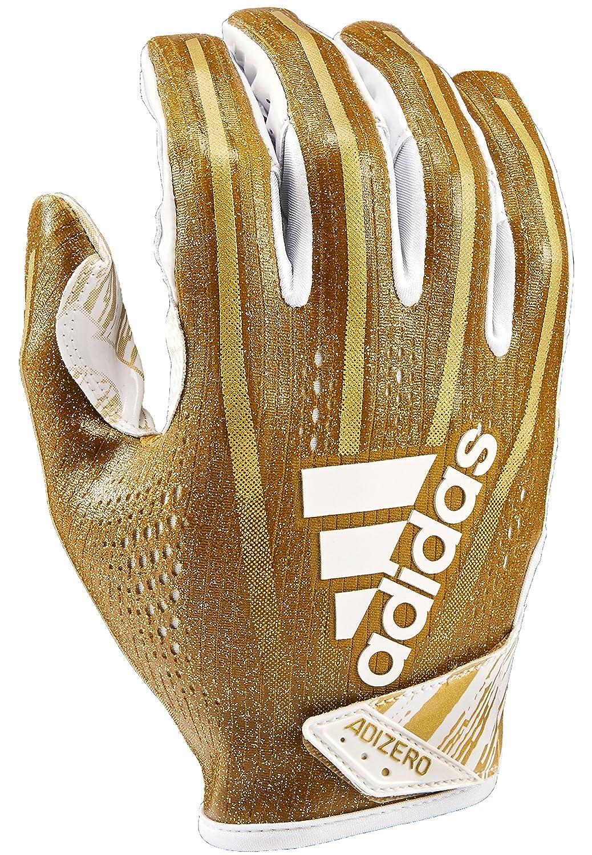 Adidas af1001 Adizero 7.0受信機光の速度の手袋、メタリックゴールド、XXL B07BDX1HK3
