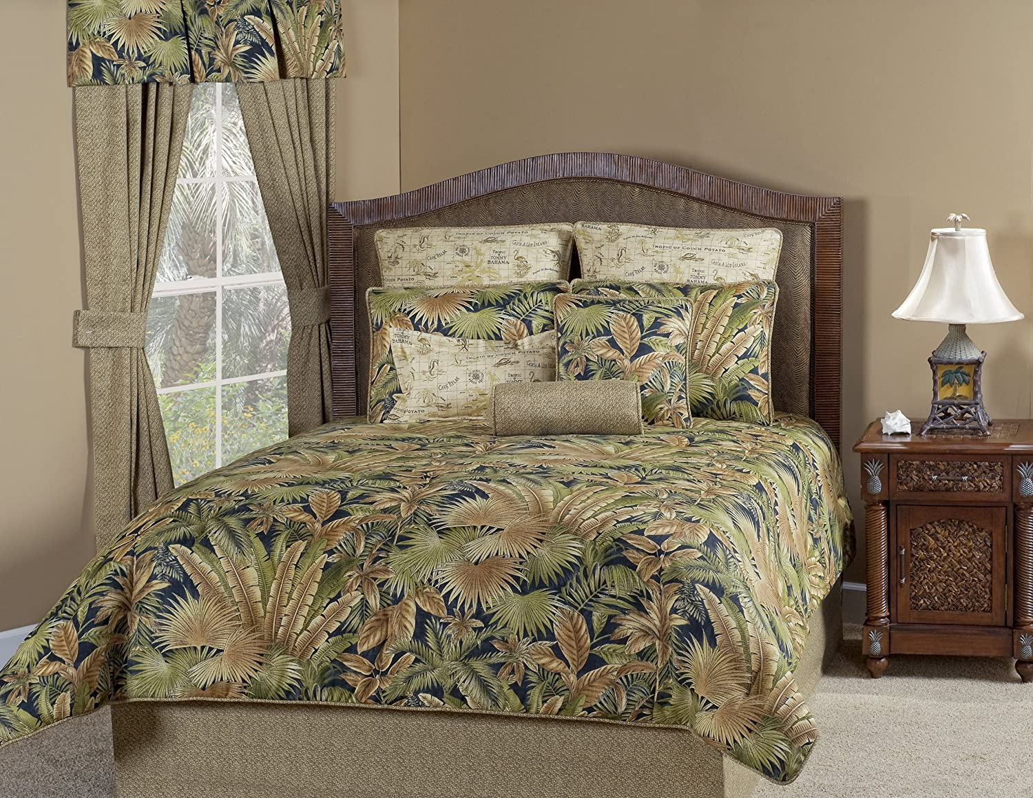 Bahamian Nights Bedding Collections ~ Tommy Bahama Victor Mill ~ Free Shpg