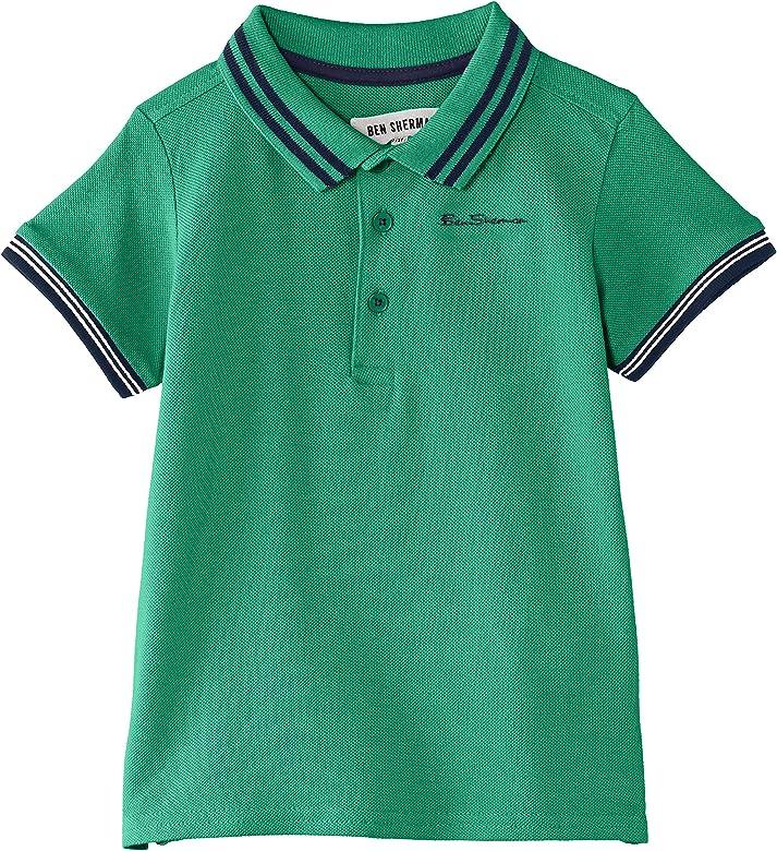 Ben Sherman Classic Polo Camiseta Manga Corta, Green (Leprechaun ...