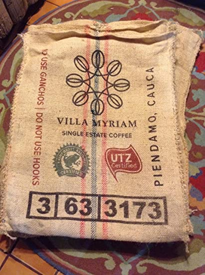 Burlap Coffee Bean Sack Bag CRAFT Gunny Sack