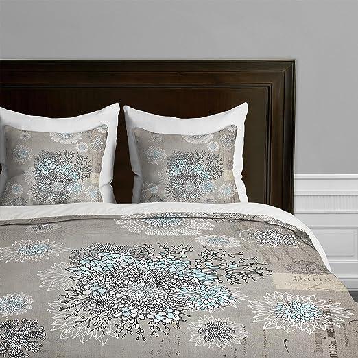 King Deny Designs  Iveta Abolina French Blue Duvet Cover