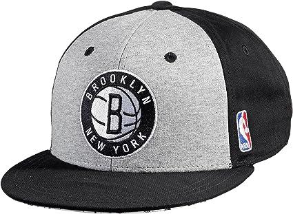 adidas - Gorra para hombre (talla única), diseño de la NBA, color blanco, negro y gris
