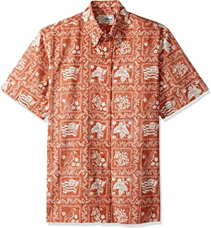 ac2a4619 Reyn Spooner Mens Lahaina Sailor Classic Fit, Pullover, Iconic Hawaiian  Shirt