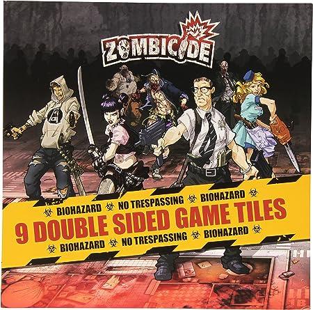 Zombicide: 9 Double Sided Game Tiles - Juego de Tablero, 1 o más Jugadores (Guillotine Games GUG0005) [Importado]: Amazon.es: Juguetes y juegos