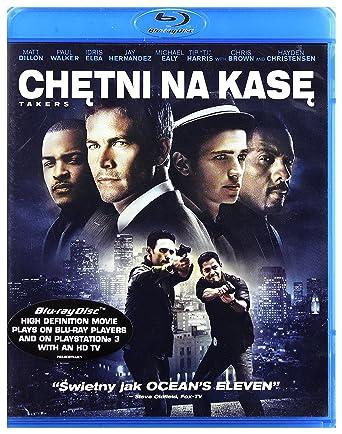 Takers Blu-Ray Region B IMPORT No hay versión española: Amazon.es ...