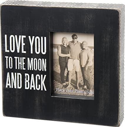 Personalised I Love You To The Moon And Back Print By The Drifting