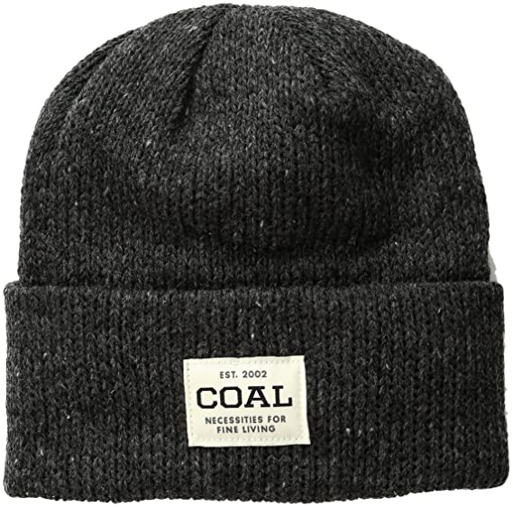Coal Men s The The Uniform Se Beanie Heather Black One Size 3c59b634a077