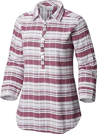 Columbia Summer Ease Popover Tunic Camisa para Mujer. Mujer