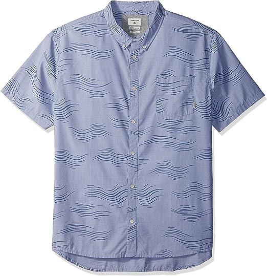 Quiksilver Valley Groove - Camisa de manga corta con botones ...