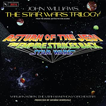 Bildresultat för John Williams star wars lp hologram cover