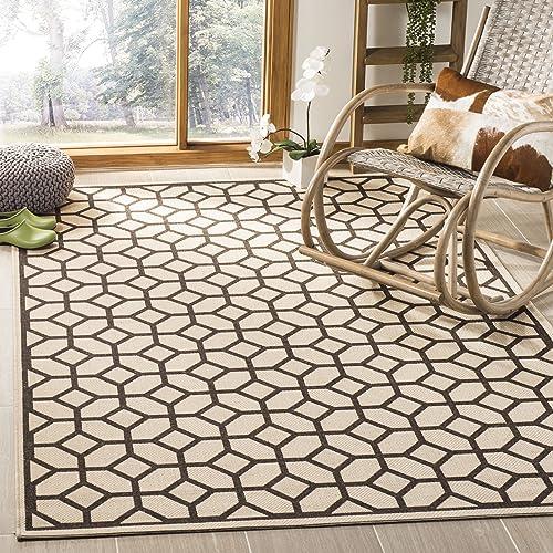Safavieh LND127B-6SQ Linden Collection Premium Wool Square Area Rug