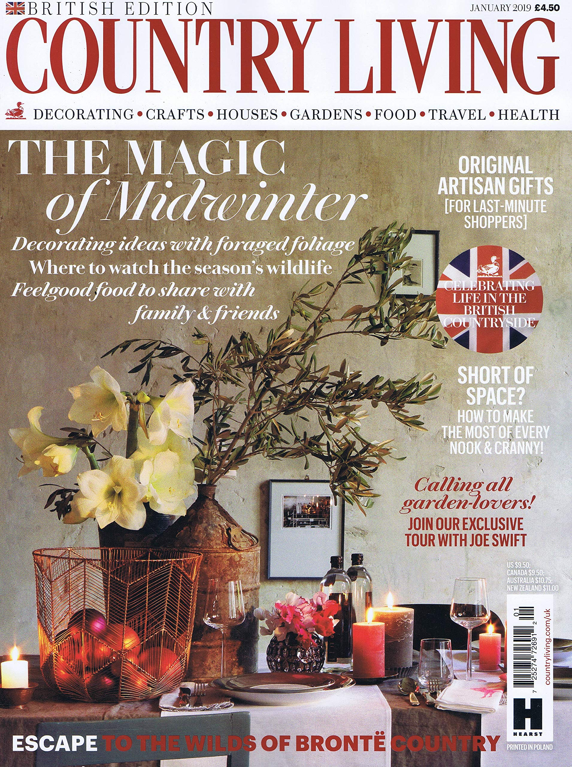 Country Living [UK] January 2019 (単号)