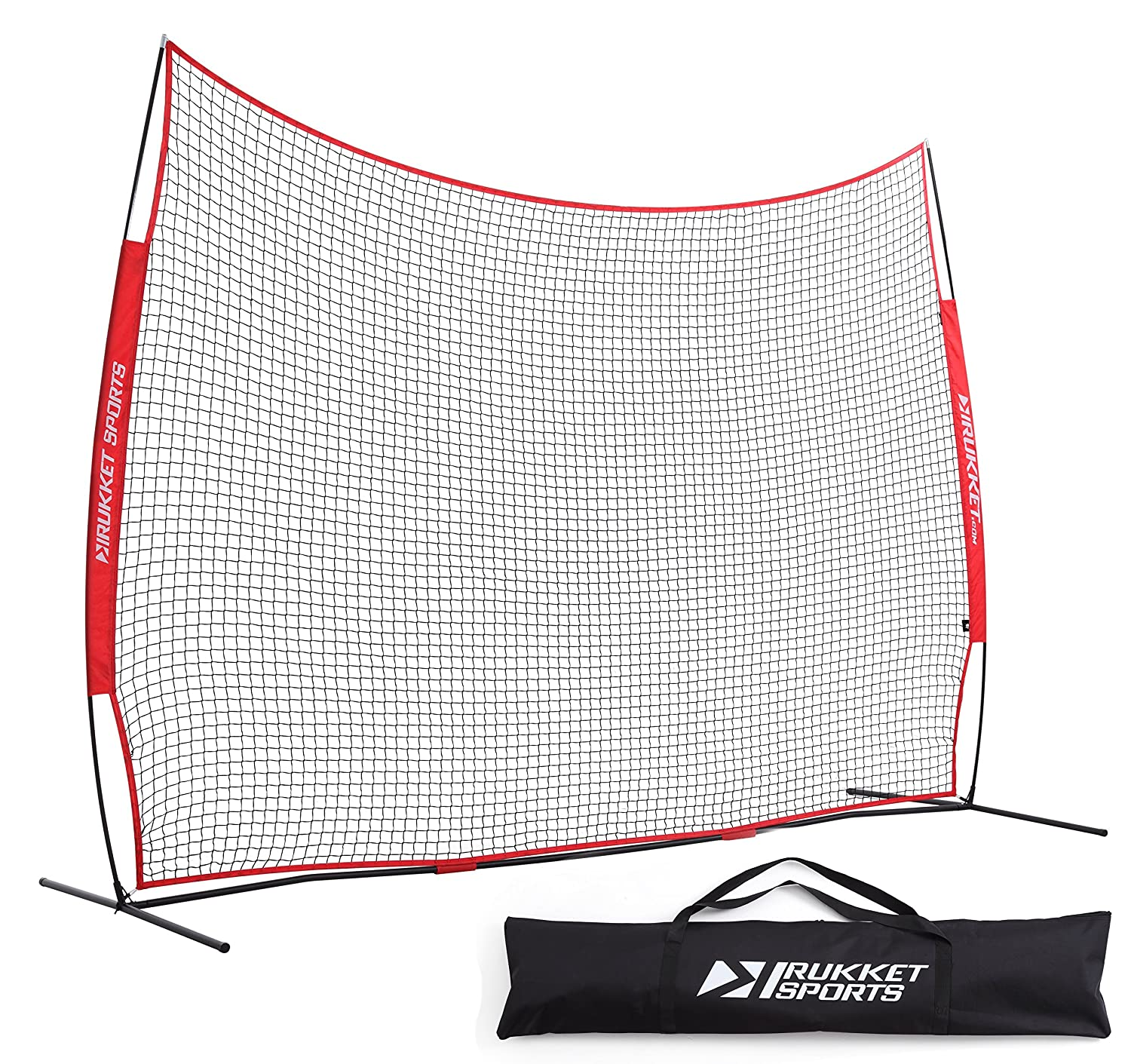 amazon com rukket 12x9ft barricade backstop net lacrosse