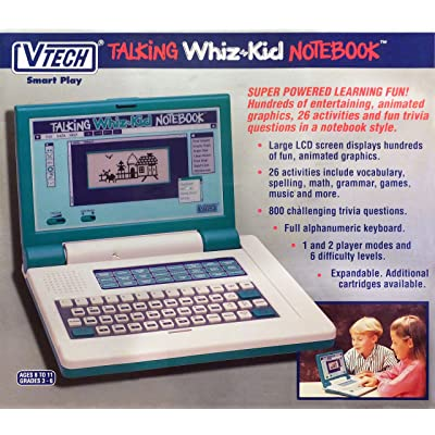 VTECH TALKING WHIZ KID NOTEBOOK: Toys & Games