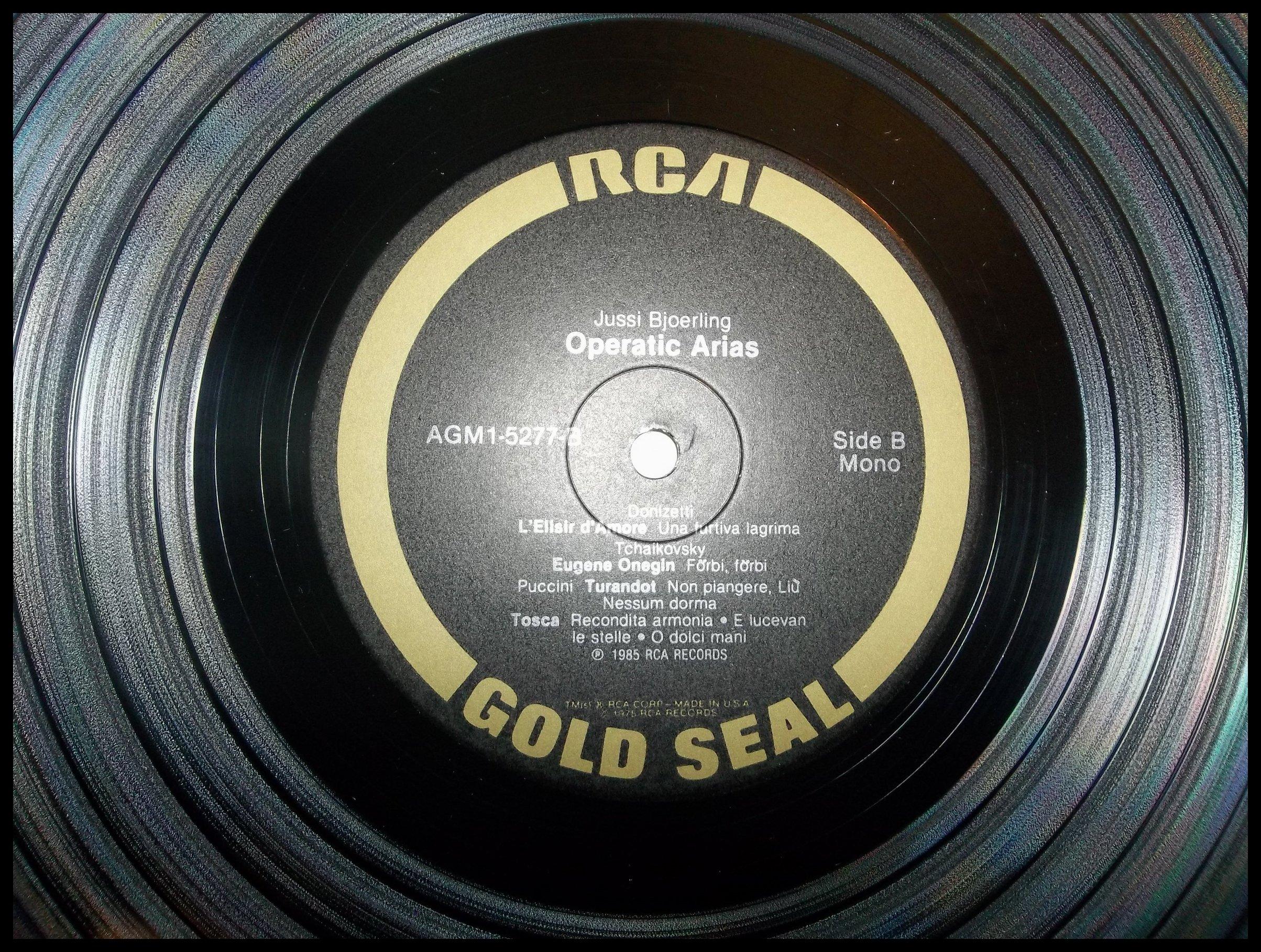 OPERATIC ARIAS-BJOERLING [Vinyl] by RCA (Image #3)