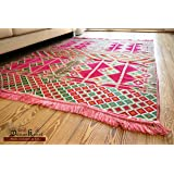 200cm x 135cm tapis oriental, kelim, Kilim, carpet, couverture au sol, Teppich, Rug nouveau de damaskunst s 1–4-24
