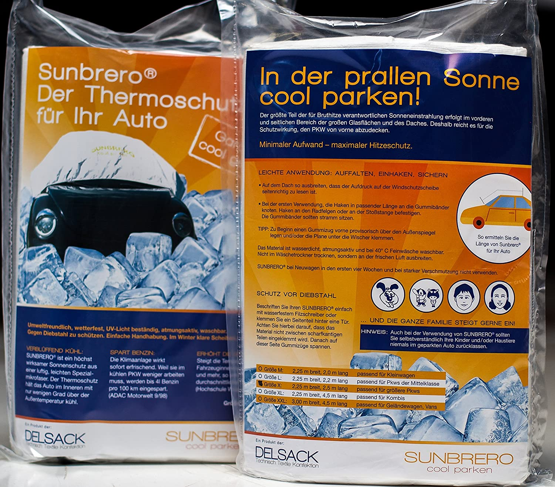 Sunbrero, Sonnenschutz, Abdeckung, Hitzeschutz, Haube für\'s Auto, um ...