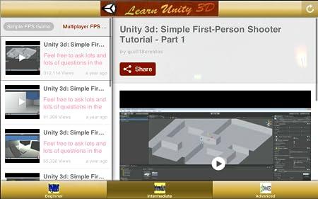 Unity 3d tutorial part