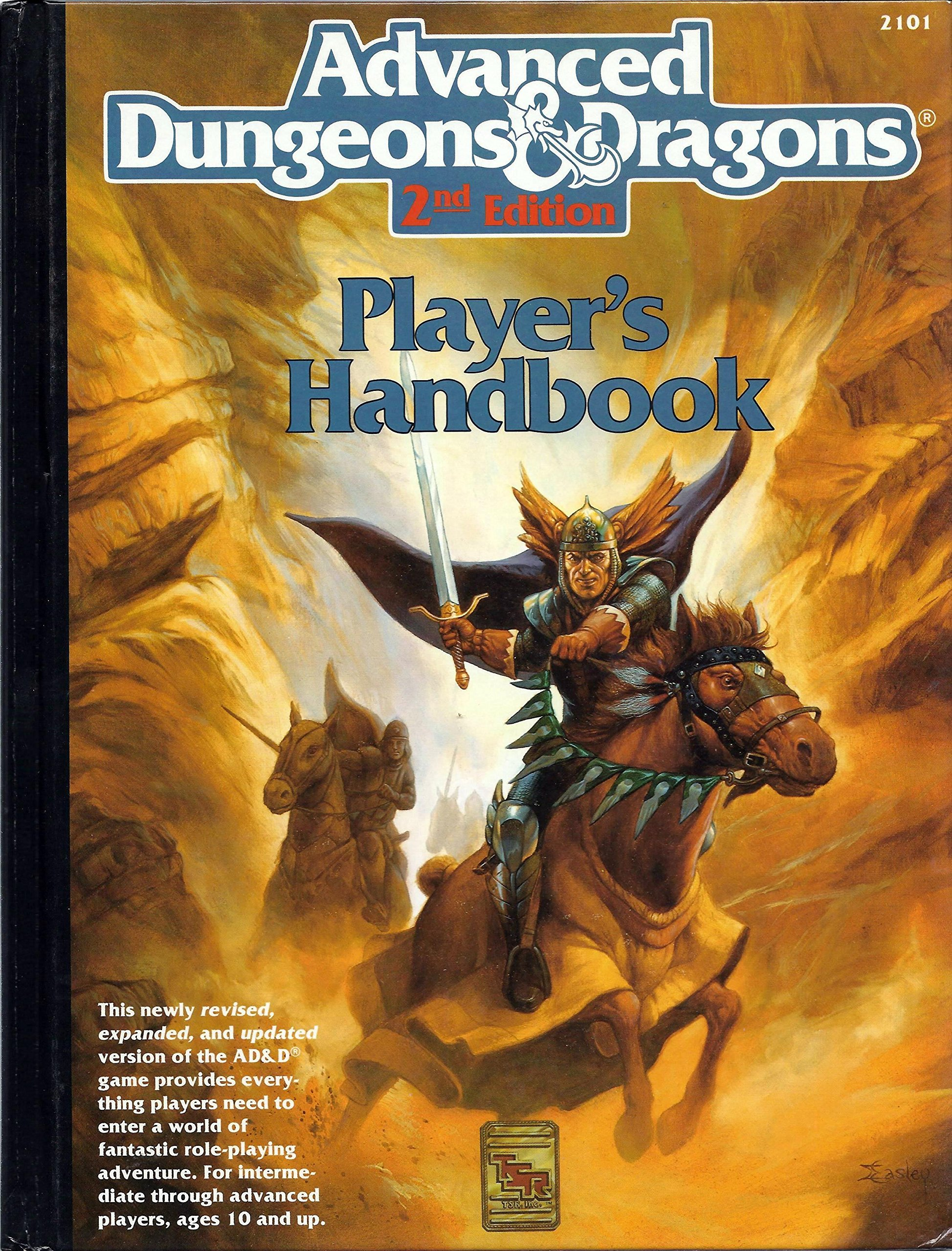 Advanced Dungeons and Dragons: 2nd Edition Player's Handbook: Amazon.co.uk:  David Cook: 9780880387163: Books