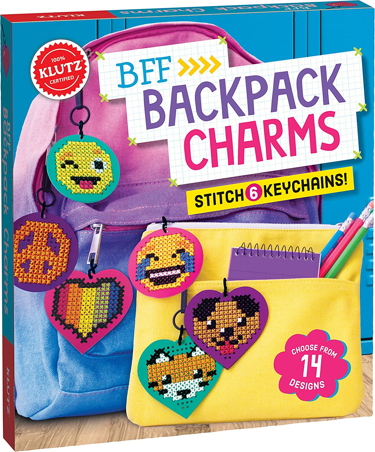 Klutz Bff Backpack Charms ONLY...