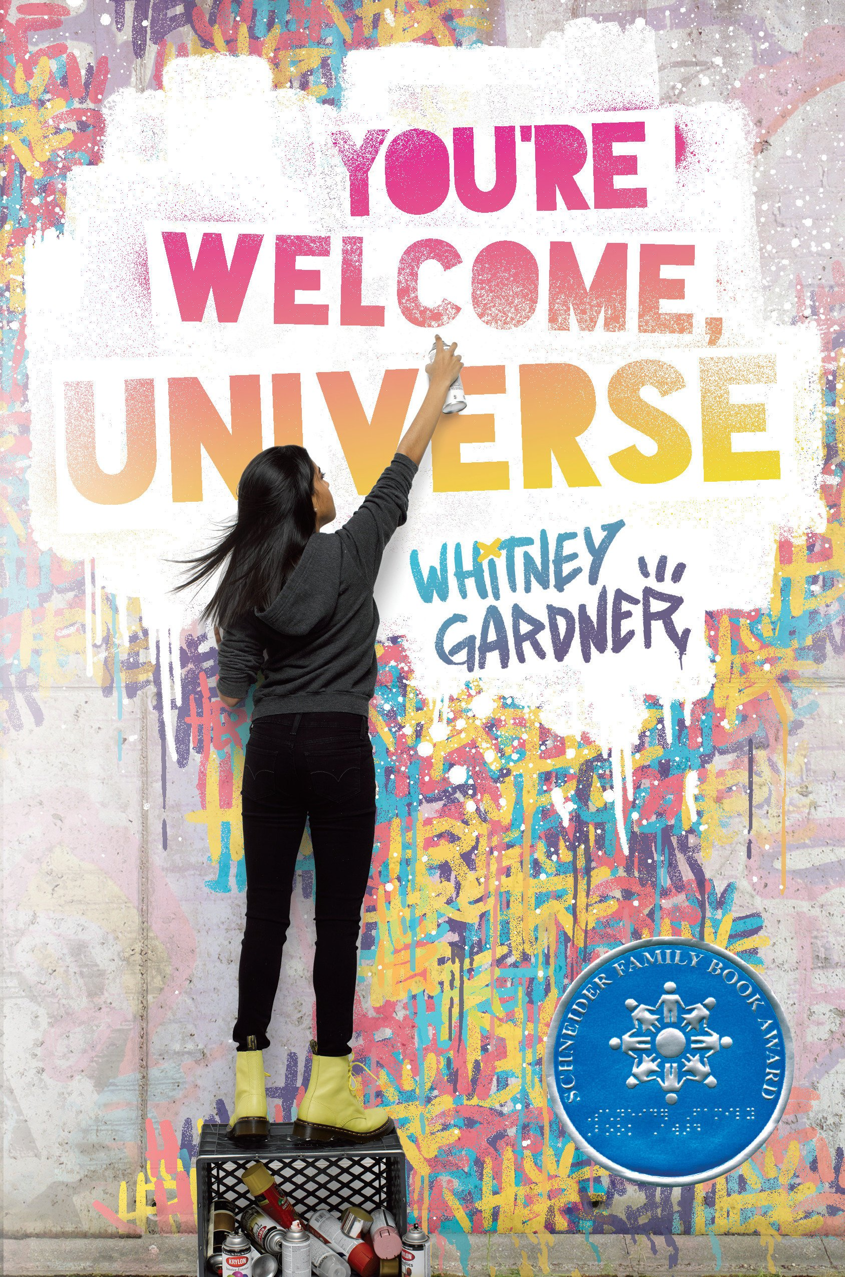 Image result for You're Welcome, Universe by Whitney Gardner