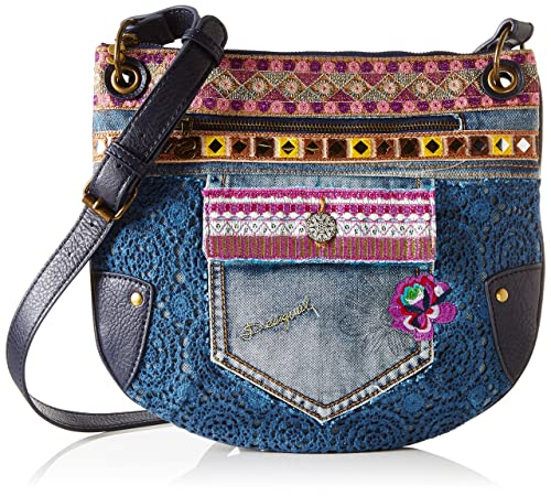 Desigual brooklyn Blu Donna Borsa Tracolla Bols Jean Exotic A 8r08q5
