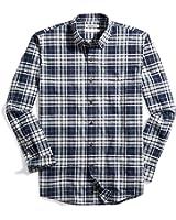 Goodthreads Men's Standard-Fit Plaid Oxford Shirt