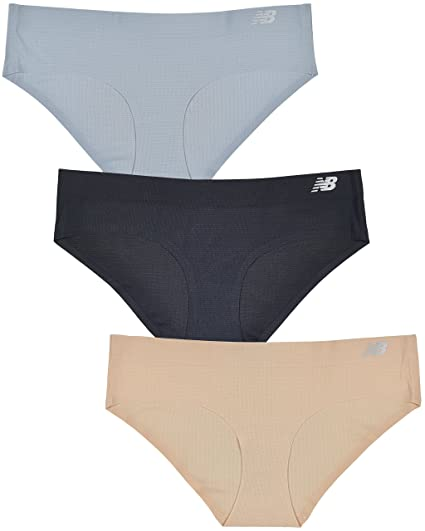 New Balance Womens Breathe Hipster Panty 3 Pack by New Balance