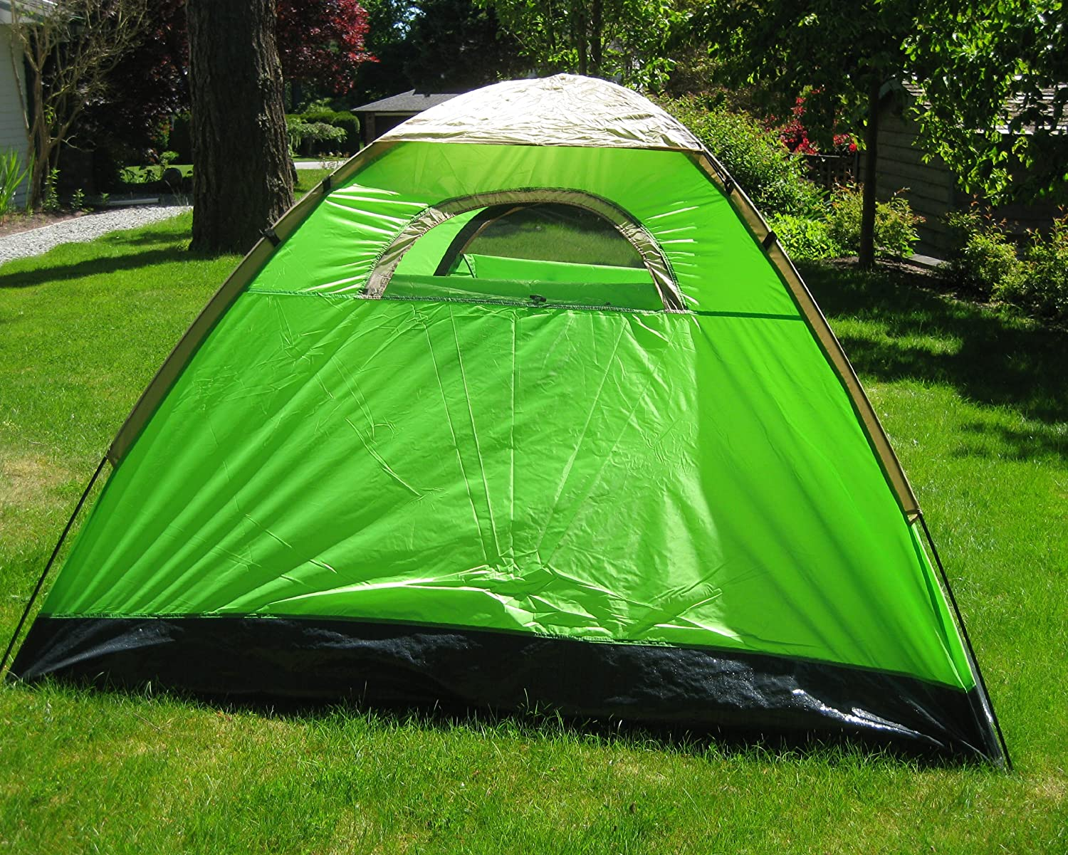 Amazon.com : Zaltana 3 PERSON TENT WITH AIR MATTRESS (DOUBLE) : Family Tents  : Sports & Outdoors