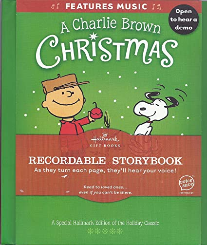 Recordable Christmas Books.A Charlie Brown Christmas Recordable Storybook