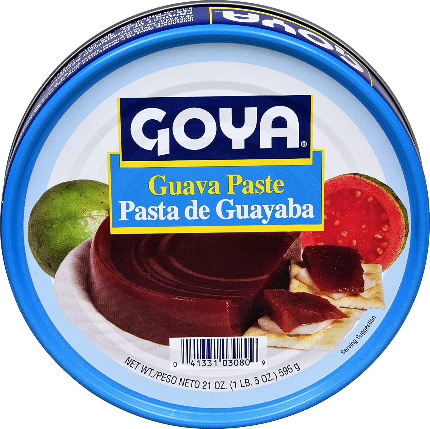 B008OFTIAQ Goya Foods Guava Paste, 21-Ounce (Pack of 24) A1oeSCCivwL._SL1500_
