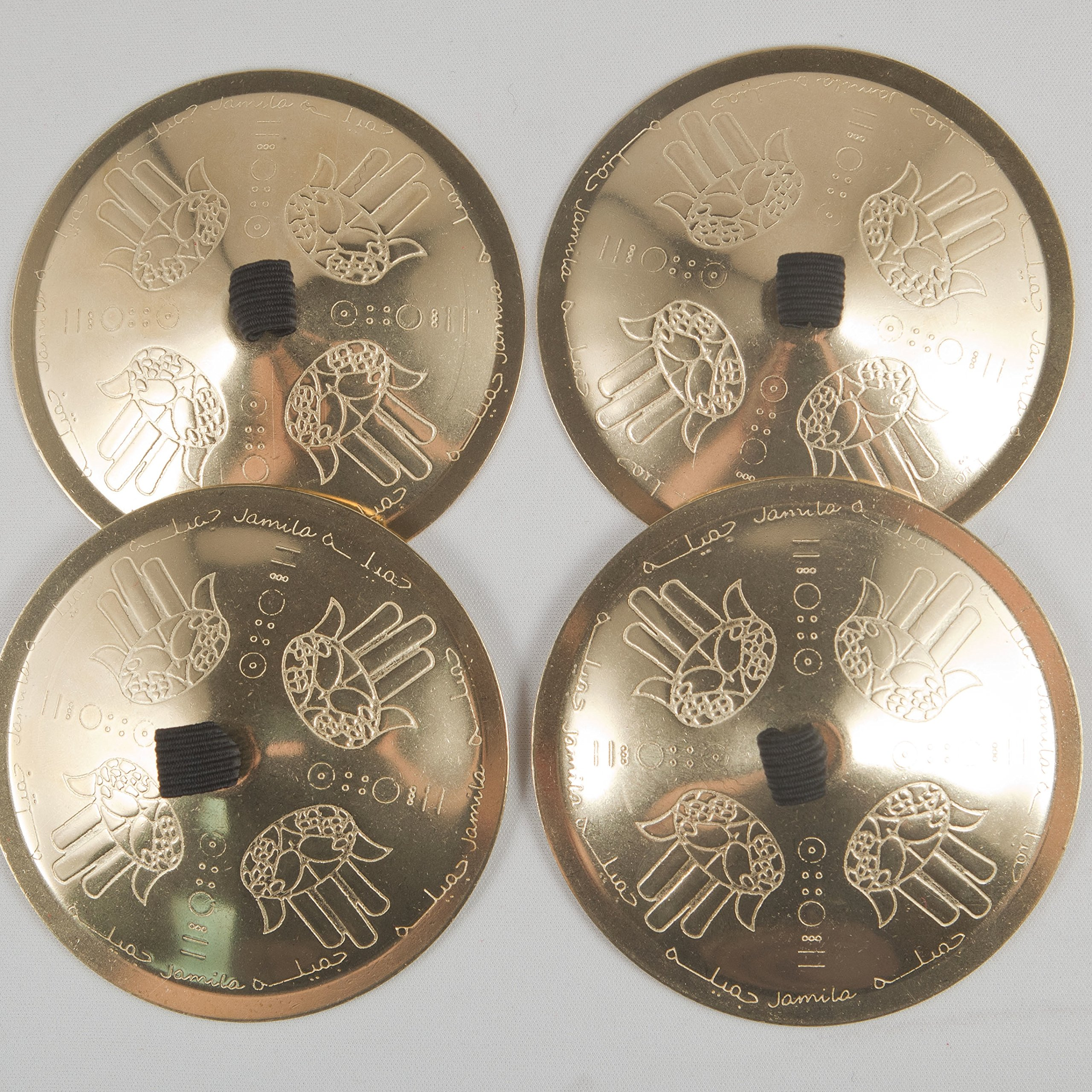 Jamila Salimpour Finger Cymbals by Suhaila International