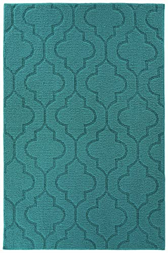 Nourison India House Multicolor Rectangle Area Rug, 5-Feet by 8-Feet 5 x 8