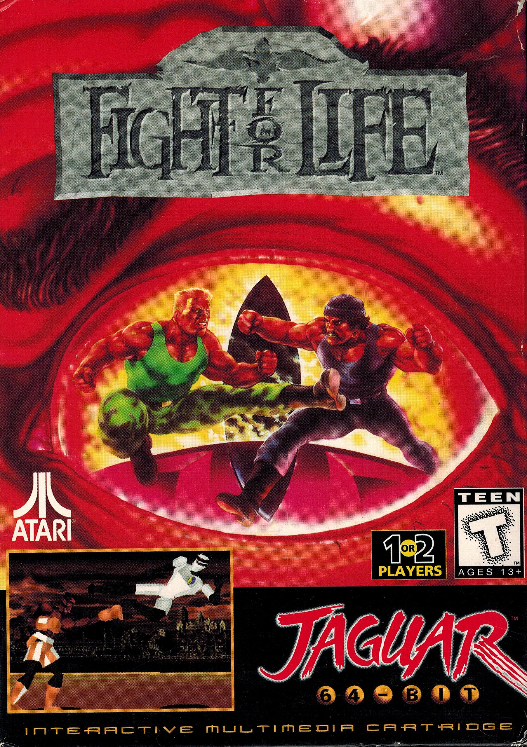 Amazon.com: Fight For Life Atar Jaguar 64-Bit Fighting Game ...