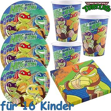 53 Juego de set de fiesta * Teenage Mutant Ninja Turtles ...