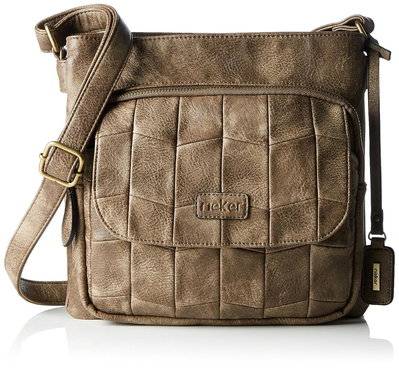 Nicht Angegeben, Womens Shoulder Bag, Grau (Stromboli/altsilber), 130x260x350 cm (B x H T) Rieker