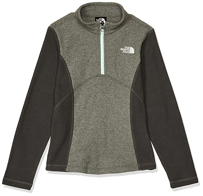 f7272bc4d02fa Amazon.com  The North Face Girl s Glacier Quarter Zip Pullover (Past ...