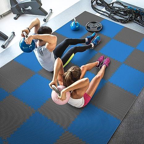 Lhotsex 1/4-inch Ejercicio Yoga Mat, Respetuoso con el Medio ...