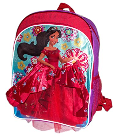 6437ad046c4c Amazon.com | Colorful Princess Elena of Avalor School Bag Backpack, Girls  School Bagpack (Red Ball Gown Elena) | Kids' Backpacks