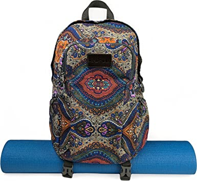 Amazon.com: Kindfolk - Mochila de yoga con dos correas ...