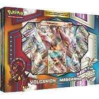 Asmodee Coffret Pokémon Soleil et Lune Exclusif-Volcanio/Magearna, AMAPOK03