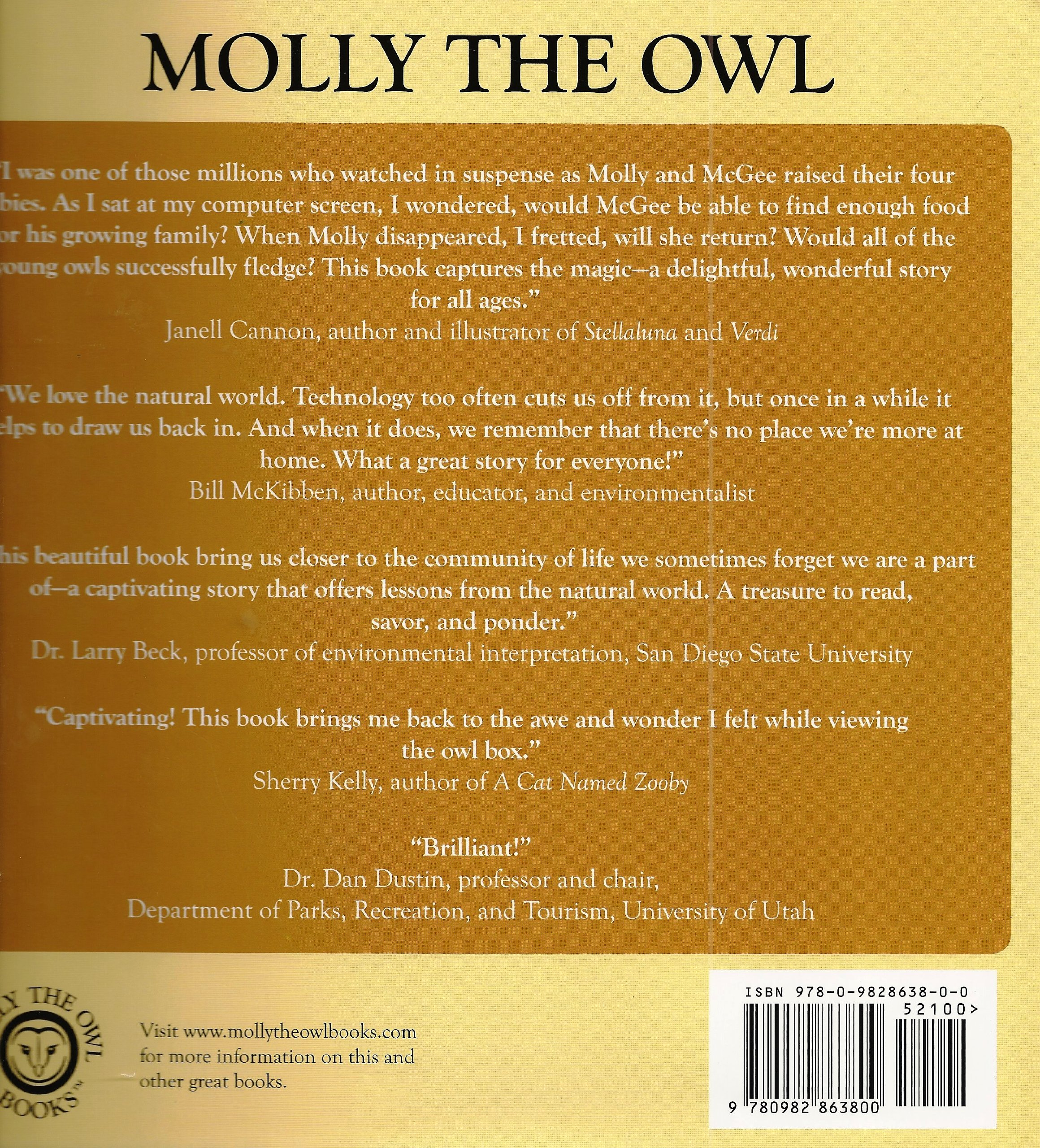 Molly The Owl True Story Of A Common Barn That Ends Up Being Not So After All Eric Blehm Christopher Adams 9780982863800 Amazon