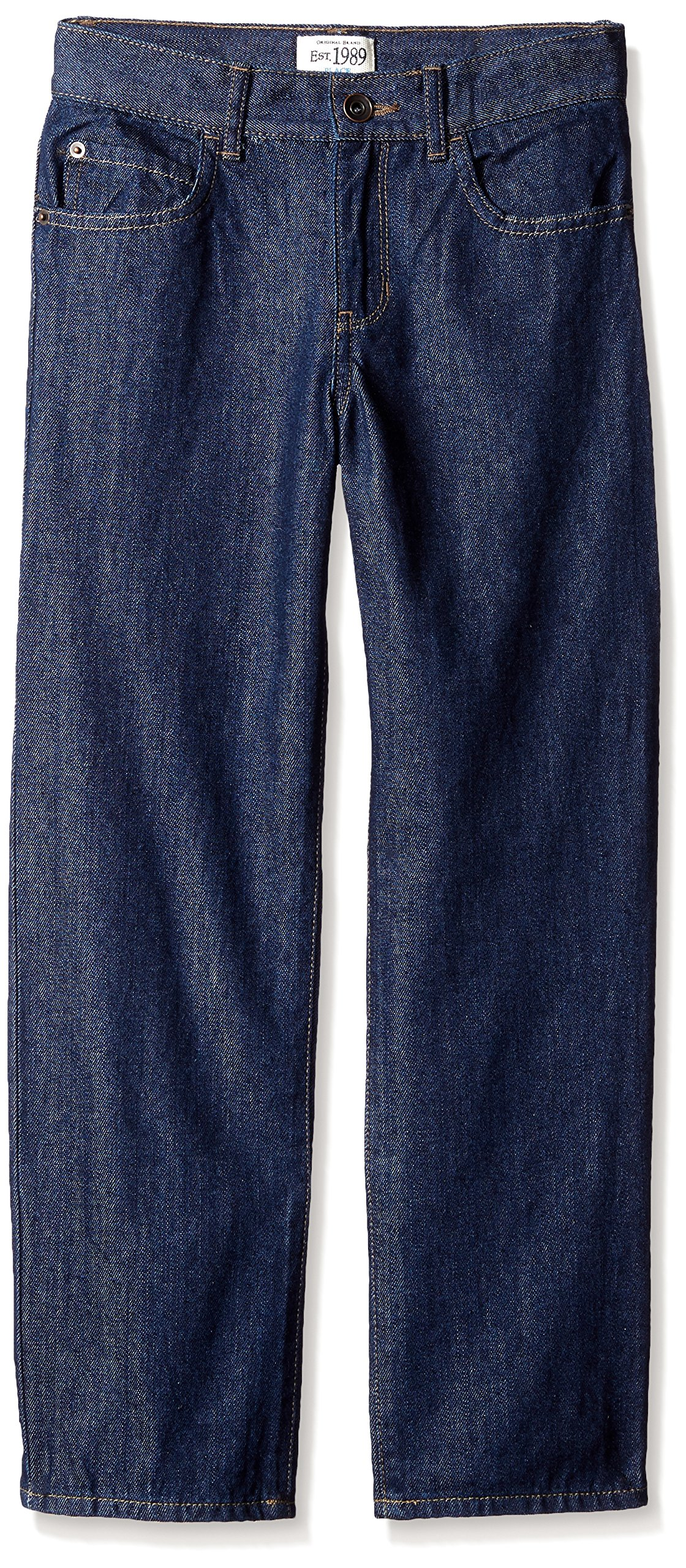 The Children's Place Little Boys' Loose Fit Jeans, Rinse, 7