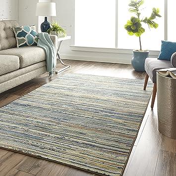 Amazon.com: Mohawk EC borrosa Flores alfombra de área ...