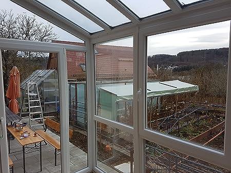 Jardín de invierno aislado, 1,3 kW, terraza acristalada: Amazon.es: Bricolaje y herramientas