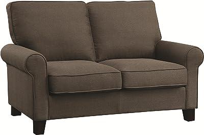 Coaster 504782 Home Furnishings Love Seat, Grey
