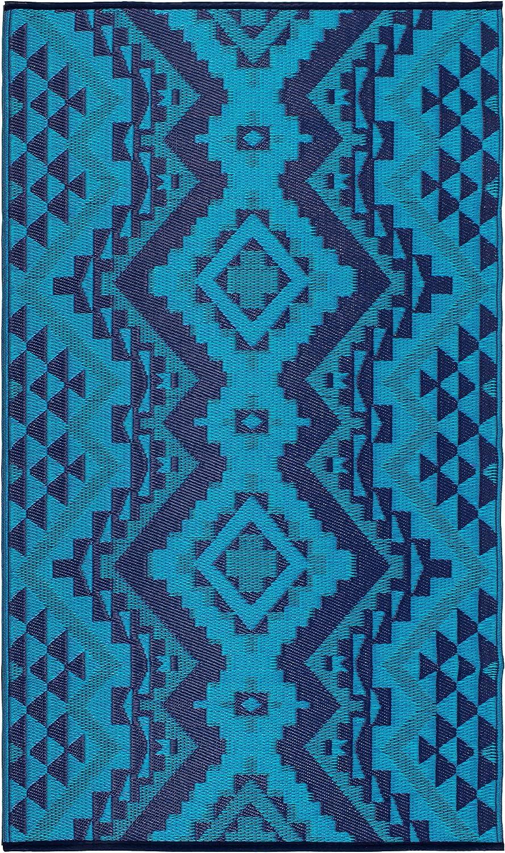 FAB HAB Puebla 90cm x 150cm Blue